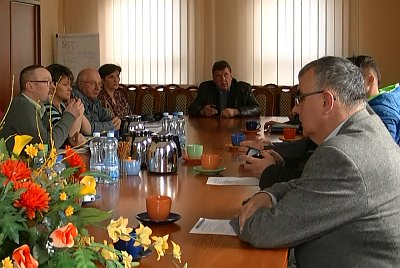 Wspóne posiedzenie komisji o drogach w gminie giżycko