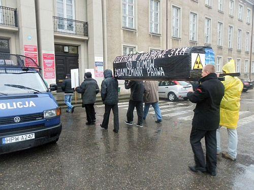 manifestacja w koszalinie