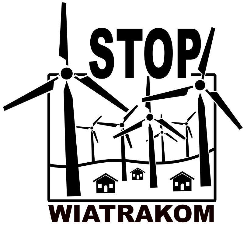 stop wiatrakom